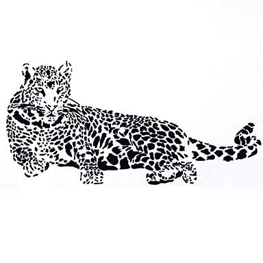 Dekorative Mur Klistermærker - Animal Wall Stickers Dyr / Sille Liv / Mode Stue / Soveværelse / Spisestue / Kan fjernes