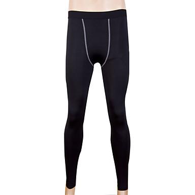 Homens Leggings de Ginástica Leggings de Corrida Secagem Rápida Redutor de Suor Meia-calça Calças Exercício e Atividade Física Corrida