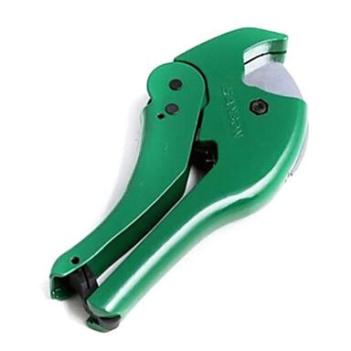 PVC-Schnitt PVC-Kunststoff-Rohr Rohrschneider geschnitten / Rohrschneider