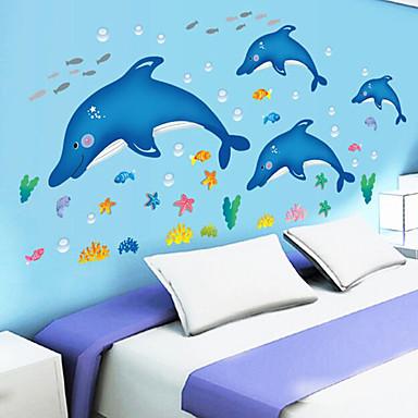 Dekorative Wand Sticker - Flugzeug-Wand Sticker Landschaft / Tiere Wohnzimmer / Schlafzimmer / Badezimmer / Abziehbar