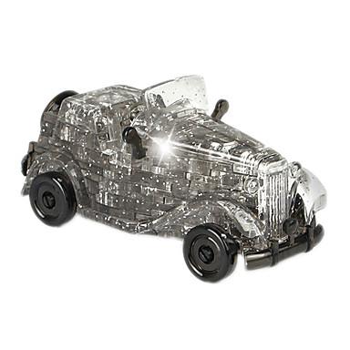 ZHILING Carros de Brinquedo Blocos de Construir Quebra-Cabeça Quebra-Cabeças de Cristal Brinquedos Cristal ABS 54 Peças