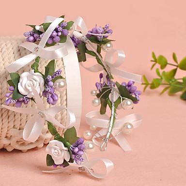 tüll nachahmung perle stoff kränze kopfstück klassischen weiblichen stil