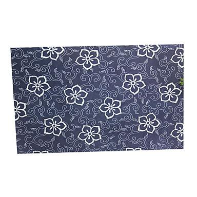 enveloppe de motif décoratif bleu (10 pièces)