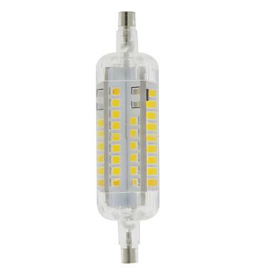 3W R7S Lâmpadas Espiga T 60 LEDs SMD 2835 Impermeável Decorativa Branco Quente Branco Frio 250-300lm 3000-6500K AC 220-240V