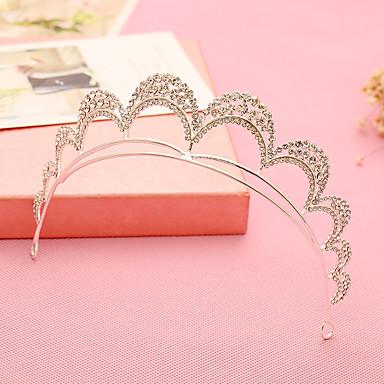 Damen Blumenmädchen Strass Legierung Kopfschmuck-Hochzeit Besondere Anlässe Tiara Stirnbänder 1 Stück