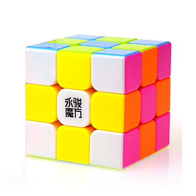 Cubo de rubik YONG JUN 3*3*3 Cubo velocidad suave Cubos mágicos rompecabezas del cubo Nivel profesional Velocidad Clásico Niños Adulto Juguet Chico Chica Regalo