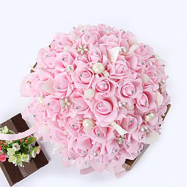 פרחי חתונה זרים חתונה שזירה אבן נוצצת מתכת קֶצֶף 9.06