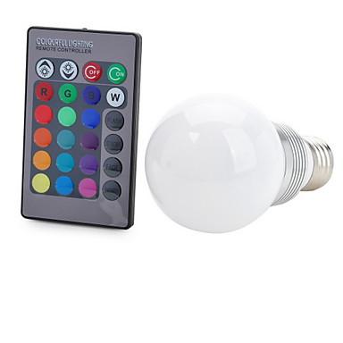 100-200 lm E26/E27 Smart LED Glühlampen T 1 Leds COB Dekorativ Ferngesteuert RGB Wechselstrom 85-265V