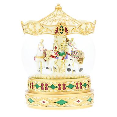 keramikk gull kreative romantisk musikk boksen for gave