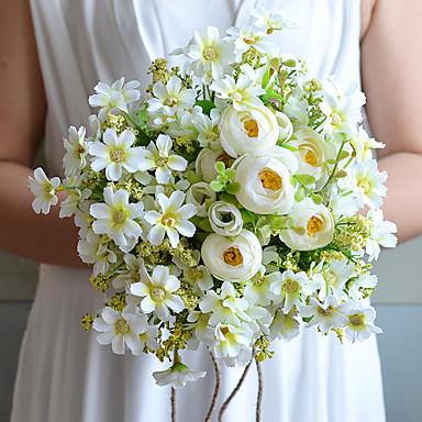 Esküvői virágok Csokrok Esküvő Tüll Pamut Szatén 9,06