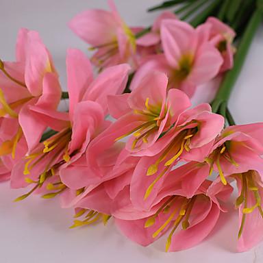 Polyester Orkideer Kunstige blomster