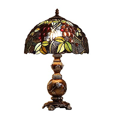 Tiffany Protection des Yeux Lampe de Bureau Pour Résine 110-120V 220-240V