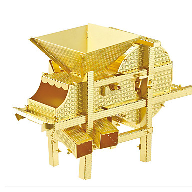 Puzzles 3D - Puzzle / Metallpuzzle Bausteine DIY Spielzeug Maschine Metall Gold / Silber Model & Building Toy