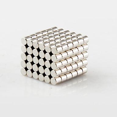 צעצועים מגנטיים אבני בניין מגנטים חזקים נדיר- Earth סופר 100 חתיכות 2*2mm צעצועים מגנט גלילי מתנות