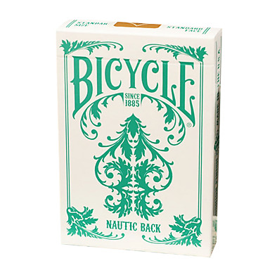 Qualitätswaren Fahrrad-Poker-Karten Fahrrad-Poker-Karten Sammlung Reihe von Smaragd Segler