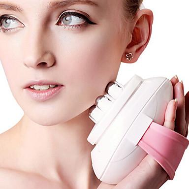 Body collant Visage Masajeador Electrique Brosse pour Visage Leurre de vibration Beauté Faire face à plus mince Vitesses Réglables