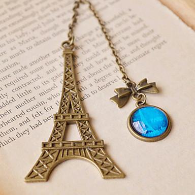 1pc Ankunftsmetall Vintage Eiffelturm Lesezeichen für Buch kreative Element Kinder Geschenk koreanische Briefpapier
