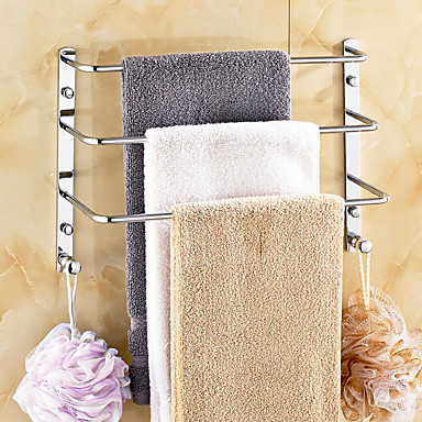 Handtuchhalter / Hochglanzpoliert Zeitgenössisch