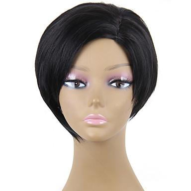 AISI HAIR Damen Synthetische Perücken Gerade Kostümperücke