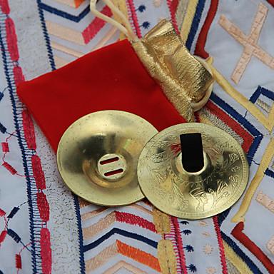 Bauchtanz Bühnenrequisiten Damen Training Metall Kupfermünzen 4 Stück Sexy Kostüme aus aller Welt Armbänder