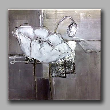 מצויר ביד L ו-scape ריבוע, קלסי מודרני פסטורלי ציור שמן צבוע-Hang קישוט הבית פנל אחד