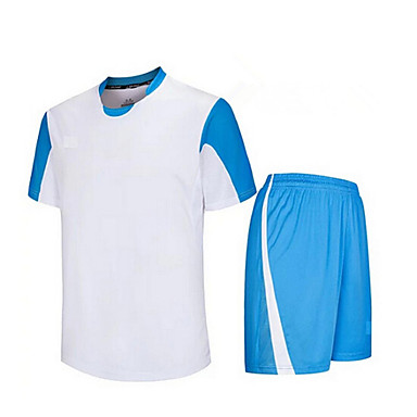 Enfant Football Shirt + Shorts Ensemble de Vêtements/Tenus Respirable Séchage rapide Printemps Eté Automne Hiver Classique Térylène