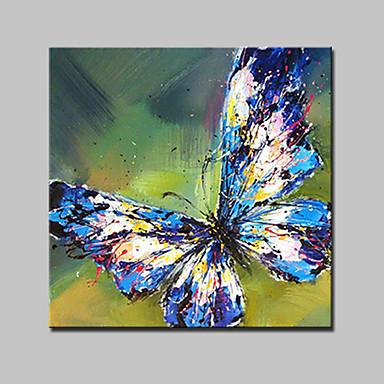 lager handgemalte moderne Schmetterling Ölgemälde auf Leinwand Wand Kunst Bild für zu Hause whit Rahmen bereit zu hängen