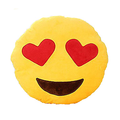 Emoji Pillow Novelty High Quality Cotton Plush Girls' Gift