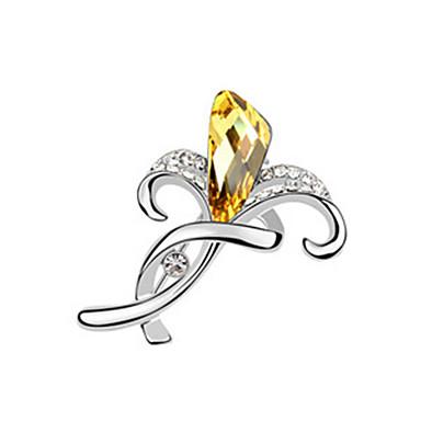 hochwertigen Kristall Brosche für die Hochzeit Partei Dame