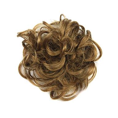 Synthetische Haare Perücken Klassisch Locken Updo Gute Qualität Stufenhaarschnitt Cosplay Perücke Kurz Rotbraun Alltag