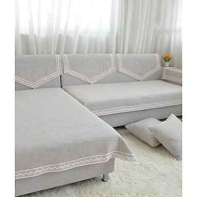 ensfarget sofa håndkle sklisikkert stoff sofa pute