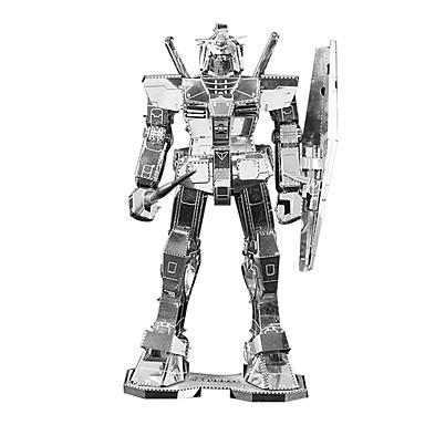 Roboter 3D - Puzzle Holzpuzzle Metallpuzzle Modellbausätze Maschine Roboter 3D Metalllegierung Metal Kinder Geschenk