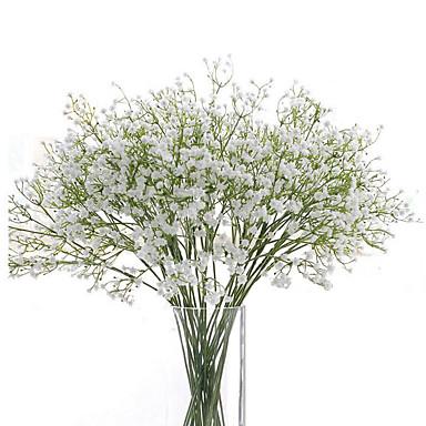رخيصةأون أزهار اصطناعية-زهور اصطناعية 6 فرع Wedding Flowers ورادت ناعمة أزهار الطاولة