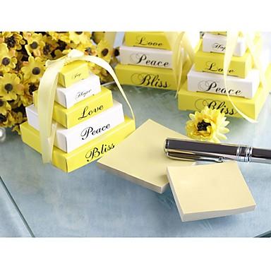 Umweltfreundliches Material Büromaterial / Zum Selbermachen / Kreative Geschenke Braut / Bräutigam / Brautjungfer Hochzeit / Jahrestag /