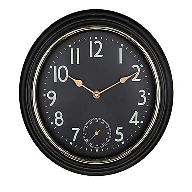 Kreisförmig Modern/Zeitgenössisch Wanduhr,Anderen Kunststoff 30*30*4.8