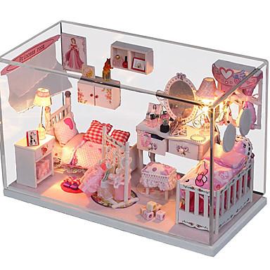 1pc maison bricolage princesse onirique cadeaux créatifs une lampe présents feux de jouets éducatifs conduit