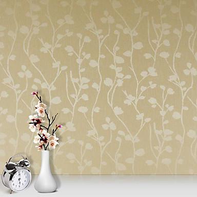フローラル柄 / 3D ホームのための壁紙 現代風 ウォールカバーリング , PVC /ビニール 材料 接着剤必要 壁紙 , ルームWallcovering