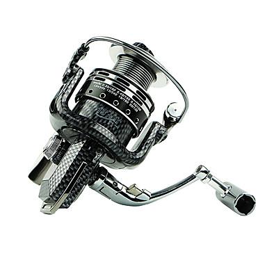 Fiskehjul Spinne-hjul 5.5 Gear Forhold+6 Kuglelejer Hand Orientering ombyttelig Generel Fiskeri - BASIC 2000