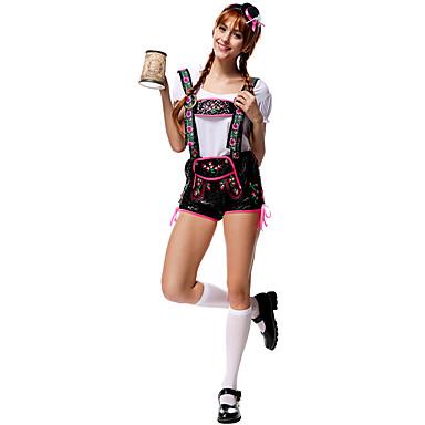 Fête d'Octobre/Bière Serveur / Serveuse Costumes de carrière Costumes de Cosplay Costume de Soirée Féminin Fête / Célébration Déguisement