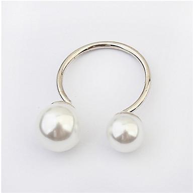 bague de perle de mode européenne et américaine classique style féminin