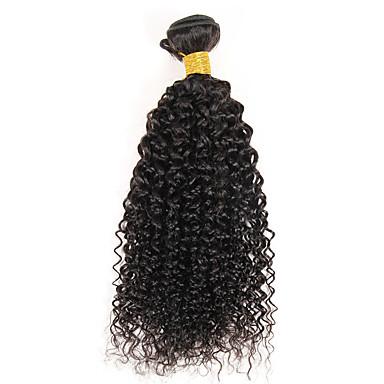 Tejidos Humanos Cabello Cabello Hindú Rizado rizado 1 Pieza los tejidos de pelo