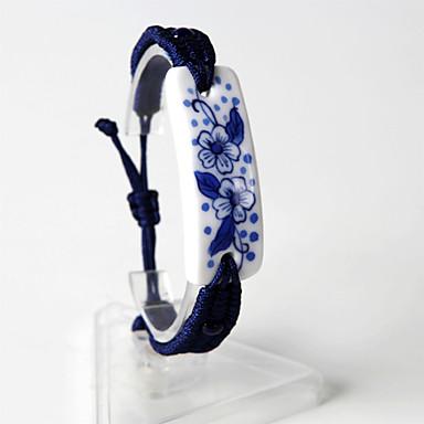 Bracelet Loom Bracelet Céramique Mode Quotidien / Décontracté Bijoux Cadeau Bleu,1pc