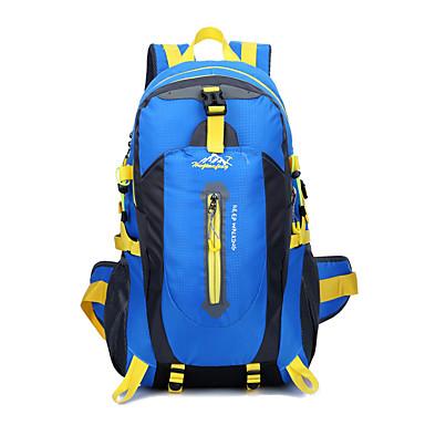 40 L Randonnée pack Organisateur Voyage sac à dos Camping & Randonnée Etanche Séchage rapide Vestimentaire Respirable Nylon Térylène