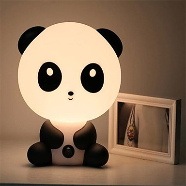 ziemlich süß für Geschenke Cartoon-Tier-Nachtlicht Baby-Raum Pandabär schlafen Licht Schlafzimmer Schreibtischlampe Lampe Nacht am besten