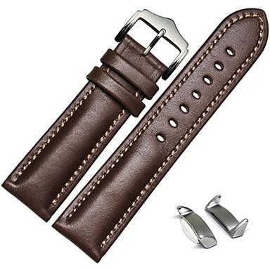 Uhrenarmband für Gear S2 Samsung Galaxy Sport Band / Klassische Schnalle / Lederschlaufe Leder Handschlaufe