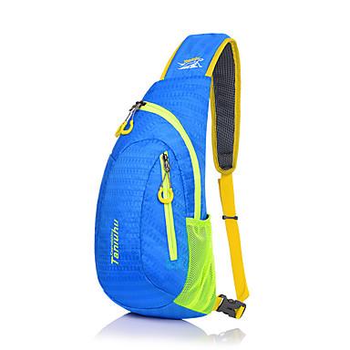 10Lתיק כתף תיק חזה ל ספורט פנאי לטייל ריצה תיקי ספורט עמיד למים רב תכליתי תיק ריצה