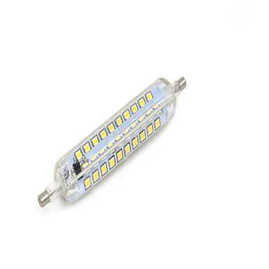R7S Luz de Decoração Encaixe Embutido 80 leds SMD 2835 Impermeável Regulável Branco Quente 550-580 AC 220-240V