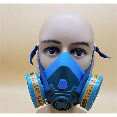 6201 máscara do respirador decoração visão grande pintura de silicone formaldeído químico anti poeira