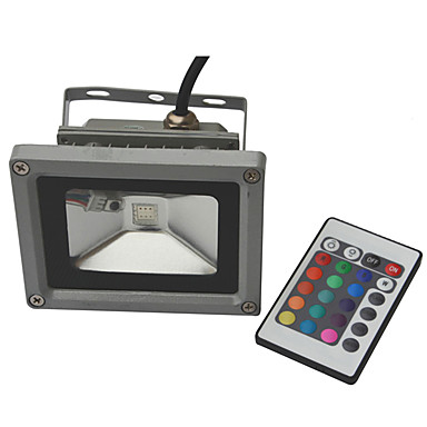 10W Projecteurs LED 900-1000 lm RVB COB AC 85-265 V 1 pièces