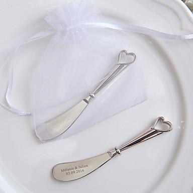 Casamento Festa Aniversário Housewarming Festa / Noite Obrigado Presente Festa de aniversário Festa de Chá Liga de Zinco Talheres